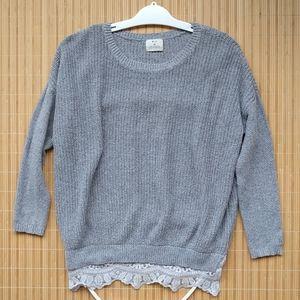 Pins and Needles oversized boho sweater